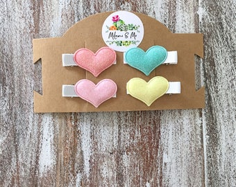 Baby Hair Clips, Christmas Gifts For Girls, Gifts For Baby Shower, Gifts For 1 Year Old Baby Girl, Small Hair Clips, Kids Stocking Stuffers