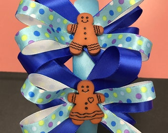 Gingerbread spouses headband