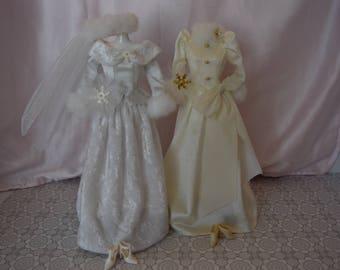 Barbie's Winter Wedding Dresses
