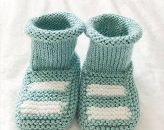 Baby Booties | Baby Boy Booties | Knitted Baby Booties | Booties | Toddler Booties | Baby Girl Booties