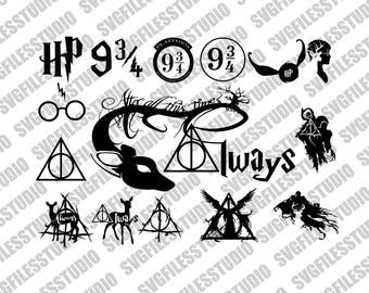 Harry Potter svg files, Always Harry Potter svg, Deer svg, Always svg, Harry Potter SVG Pack, files for Silhouette, Harry Potter Svg,png,dxf