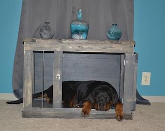 Dog Kennel Furniture / Dog Crate Furniture / Dog Den.