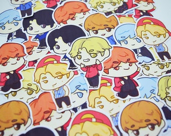 BTS DNA Sticker Set - Bangtan Boys, Kpop Stickers