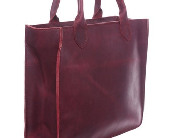 Tote bag/Women leather bag/ Big market bag/Bordo women bag/ Leather bag/Woman holder/Handmade bag/Modern bag/Big leather bag/Bag