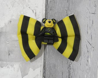 MiniFigure Marvel Batman Mickey Mouse Lego Dog Bow Tie, Dog clothing, Doggy Bow Tie, Puppy Bow Tie, Detachable Bow Tie, Slip on bow tie