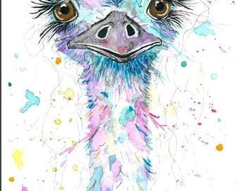 Pretty little Emu