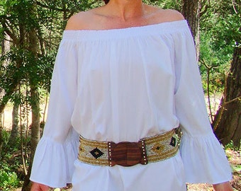 SAMA sama dress, dress tunic, down the shoulder, sleeve with overhand