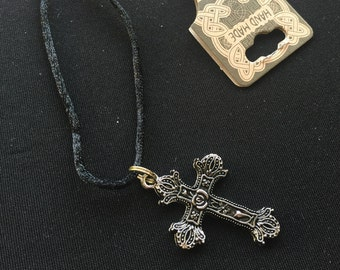 Handmade Cross Necklace