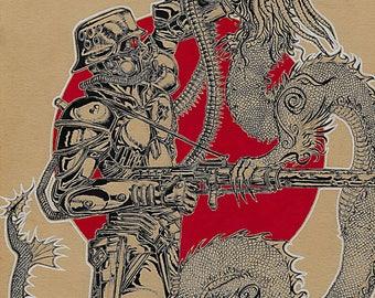 Panzer Dragon FLDillustration