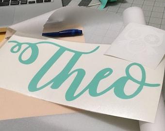 Vinyl Lettering Etsy - Custom vinyl decals lettering