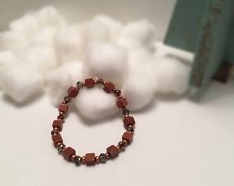 Goldstone Stretch Bracelet