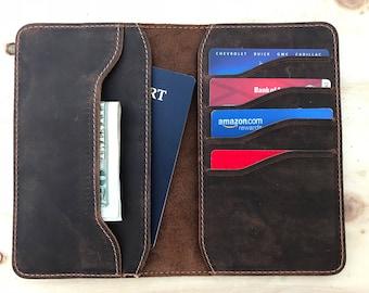 Leather Passport Holder,Leather Passport Wallet,Leather Passport Cover, Travel Wallet,minimalist,porte-passeport