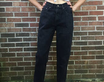 Black Express High Waisted Jeans
