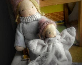 "Custom order Waldorf Doll ""8.5– 14"" , Waldorf toys, Waldorf baby doll."