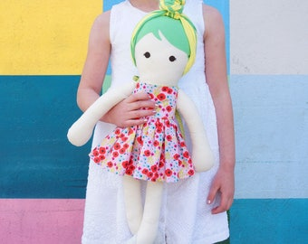 Modern Cloth Doll - Bailey