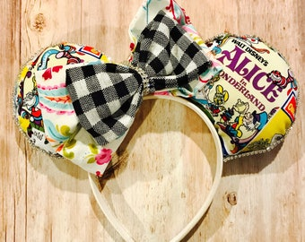 Alice in Wonderland Mickey Ears