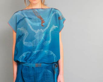 Silk Tunic Sagra