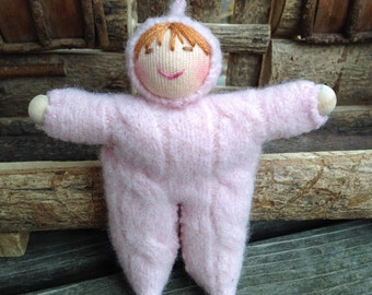 Pink Walking Finger Puppet