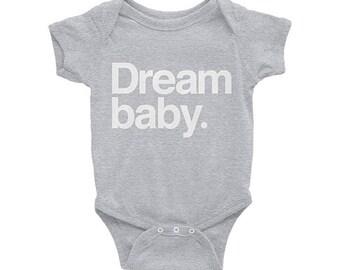 Dream baby. Grey Onesie