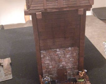 Dungeons and Dragons Fantasy Terrain, Wargaming Scatter Terrain Large Tower