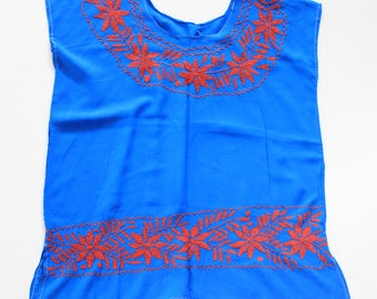 Oaxacan Embroidered Blouses