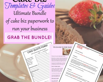 Cake Business Templates & Guides