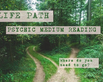 Psychic medium reading via email, I provide guidance on life path, career, relationships