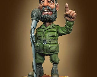 54mm collectible miniature, Fidelito by Cartoon Miniatures