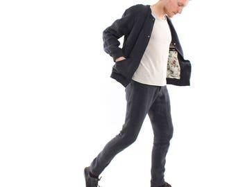 Hemp jacket unisex