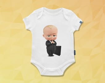 Babby Boss bodysuit,Baby Onesie,baby girl onesie,Baby Shower,New Baby,daddy baby shirts,baby shower gift,baby bodysuit,baby boy