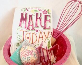 Pink Baker Set