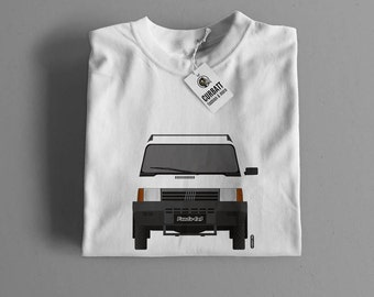 T-shirt Fiat Panda 4x4 | Gent, Lady and Kids | all the sizes | worldwide shipments | Car Auto Voiture