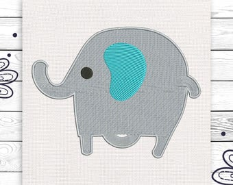 Elephant embroidery Animal Zoo Discount 10% Digital embroidery design 4 sizes INSTANT DOWNLOAD EE5062