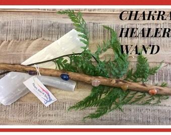Crystal Chakra healing wand