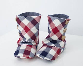 165 Adult 3 Button Boots PDF Sewing Pattern