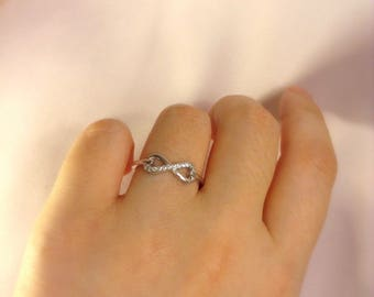 Infinity Ring ~ Silver Infinity Ring