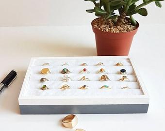Ring Organizer | Ring display stand | Jewelry Storage, Jewelry Organizer, Ring Holder, Ring Storage, Gift, Storage, ring, display