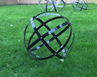 Hanging Ball of Steel