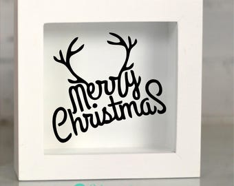 Merry Christmas Reindeer, Decals, Merry Christmas Antler, Christmas Decal, Reindeer Antlers, Home Decor, Love Christmas, Arts and Crafts