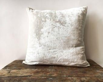 White Velvet pillow cover 20x20, throw pillow 16x16 18x18 24x24 26x26 Velvet Euro sham, velvet pillow case, 20x54 Body Pillow Cushion cover