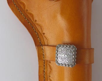 Leather holster/Uberti 45 Colt Holster/45 Colt/Holster/Western Holster/Right Hand Holster/