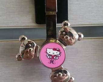 Personalized Bear Fidget Spinner Keychain!-Custom Photo Spinner keychain -Customize a Spinner with your own photos or images!