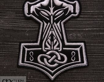 Patch Thor's Hammer Viking Mjolnir patch