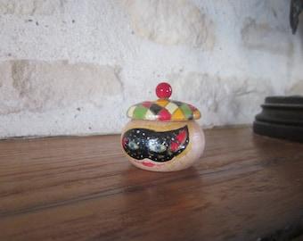 Harlequin tooth box