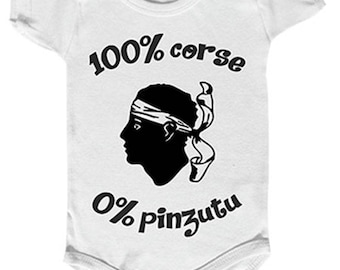 full-bodied humor, just for babies Bodysuit Corsica, not for the pinzutu...