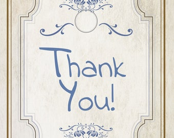 Great vintage Thank You Card