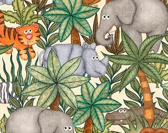 Jungle Buddies from QT Fabrics 26413E