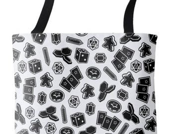 Two Pips: Board Game Print Tote