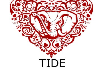 Alabama Crimson Tide Intricate Heart