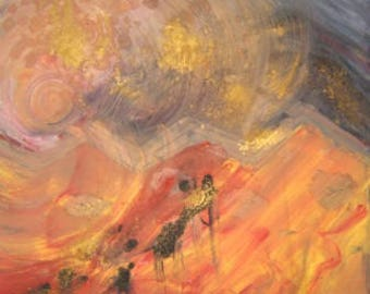 """Burning Migration - from """"Burning"""" Abstracts Series"""